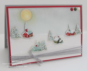 """Teri Pocock's creation for """"You Can Create It International"""" - see all the samples at www.SimplySimpleStamping.com - December 1, 2015 blog post"""