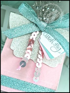 Wish Big Glimmer Box - video tutorial available at www.SimplySimpleStamping.com - look for the January 7, 2016 blog post