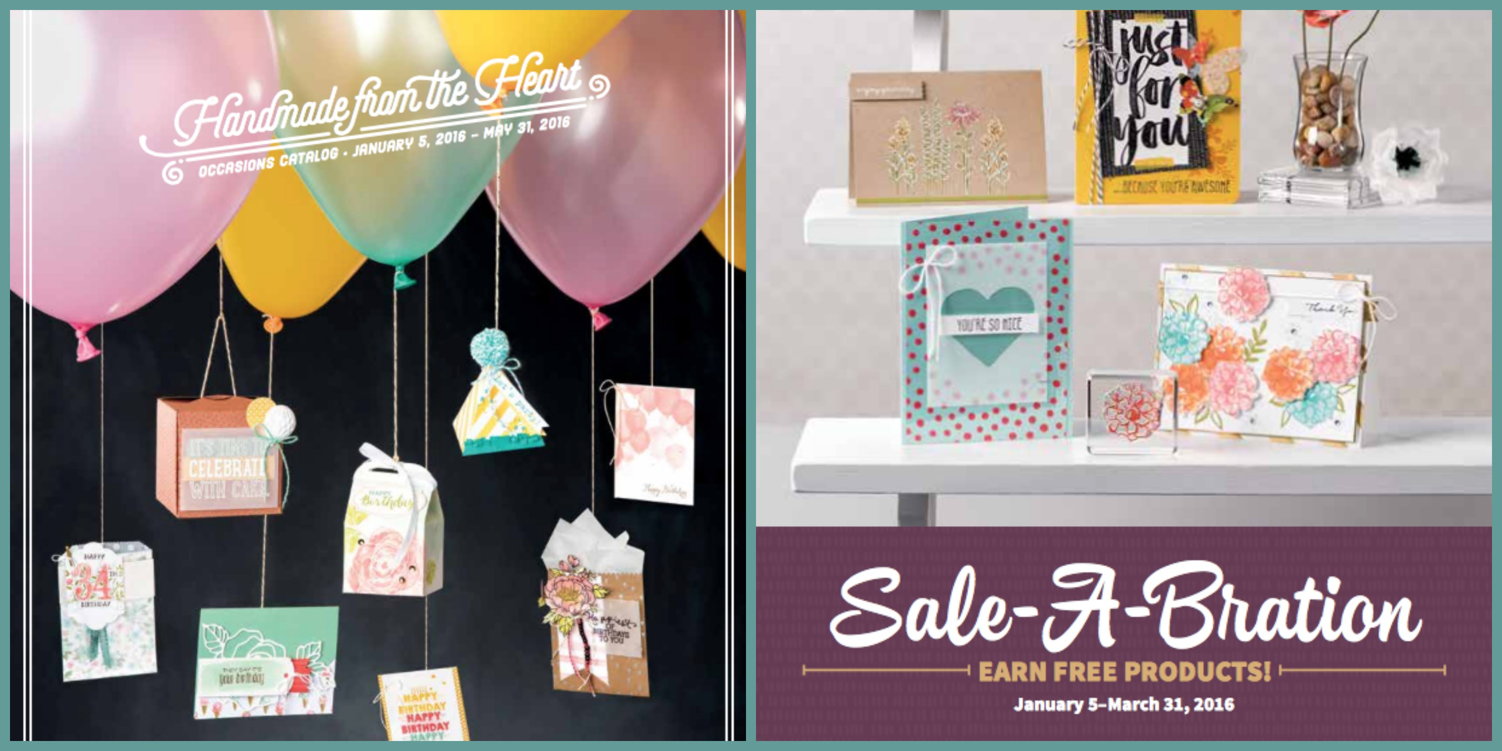 Occasions Spring/Summer & Sale-a-Bration 2016