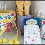 VIDEO TUTORIAL - Lemon Drop & Tea Bag Gift Box - www.SimplySimpleStamping.com - look for the March 24, 2016 blog post