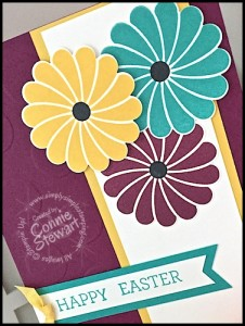 Stampin' Gals Gone Wild Weekend Challenge for March 25, 2016 - check it out at www.SimplySimpleStamping.com