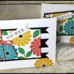 FLASH CARD Video Tutorial - You Rock Banner Card - see the video at www.SimplySimpleStamping.com.  Just look for the May 19, 2016 blog post!