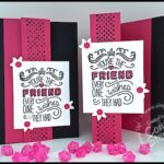 FLASH CARD MASH UP Video - Tri-Fold Friendship Card - see the video at www.SimplySimpleStamping.com.  Just look for the May 11, 2016 blog post!