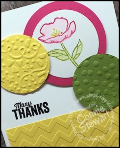 Stampin' Gals Gone Wild Weekend Challenge for May 20, 2016 - check it out at www.SimplySimpleStamping.com