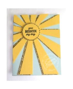 MAKE IT MONDAY - Sunburst Sayings Card - FREE at www.SimplySimpleStamping.com - look for the May 2, 2016 blog post