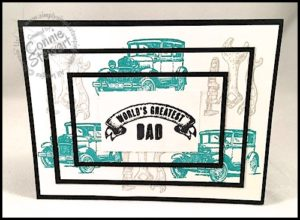 MAKE IT MONDAY - Father's Day Triple Stamping - FREE TUTORIAL at www.SimplySimpleStamping.com - look for the June 6, 2016 blog post