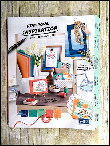 2016-2017 Stampin' Up Catalog Tabs are HERE!
