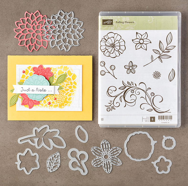 What's New Wednesday – Falling Flowers Bundle