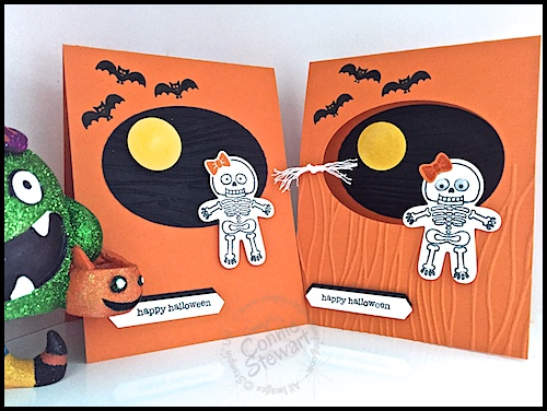 Now or WOW Flash Card – Cookie Cutter Halloween Card – Video No. 86