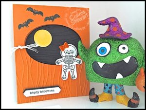 Now or WOW FLASH CARD Video - Cookie Cutter Halloween Card - check out the video tutorial at www.SimplySimpleStamping.com. Look for the September 21, 2016 blog post!
