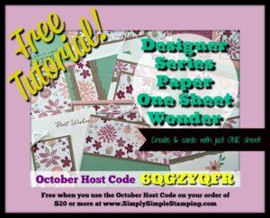 October 2016 Host Code