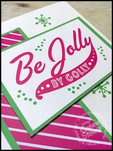 Stampin' Gals Gone Wild Weekend Challenge for September 23, 2016 - check it out at www.SimplySimpleStamping.com