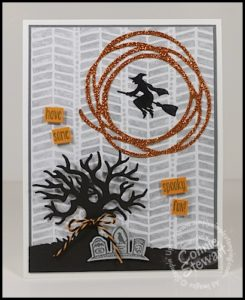 Make It Monday - Spooky Fun Halloween Card - download the FREE tutorial at www.SimplySimpleStamping.com - look for the September 12, 2016 blog post!