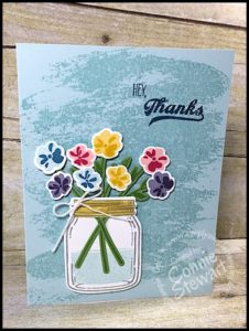 FLASH CARD 2.0 Video Tutorial - Hey, Thanks Jar of Love Card - see the video at www.SimplySimpleStamping.com - look for the October 5, 2016 blog post