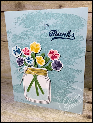 FLASH CARD 2.0 – Hey, Thanks Jar of Love Card – Video No. 76