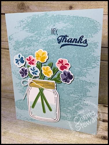FLASH CARD 2.0 – Hey, Thanks Jar of Love Card – Video No. 76