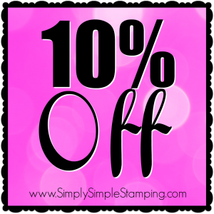 Get 10% off these fabulous Stamping' Up products through November 28, 2016! Order at www.SimplySimpleStamping.com