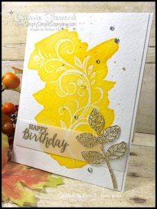 Swapping with Friends at Stampin' Up OnStage conference in Kansas City! www.SimplySimpleStamping.com