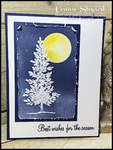 A Winter's Night Christmas Card – Video Tutorial