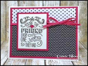 Stampin' Gals Gone Wild Weekend Challenge for November 18, 2016 - check it out at www.SimplySimpleStamping.com
