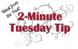 2-Minute Tuesday Tip – Mounting & Trimming Rubber Stamps