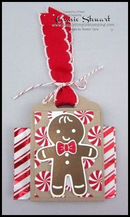 Last-Minute Stocking Stuffers – Gingerbread Ghirardelli Chocolate Holder