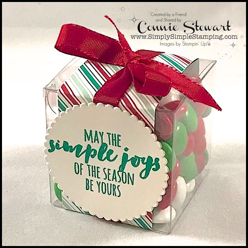 Last-Minute Stocking Stuffer – Candy Treat Box