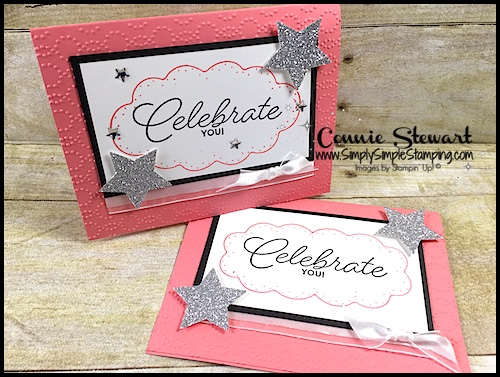 FLASH CARD – Delicate Details Celebrate You card – Video No. 89