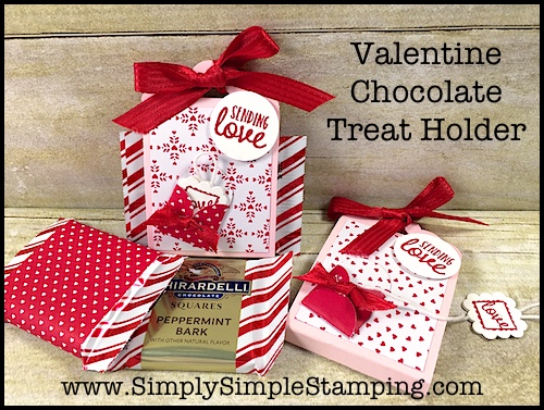VIDEO TUTORIAL – Valentine Chocolate Treat Holder