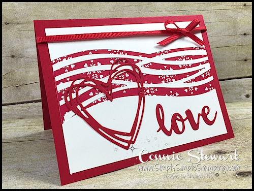 Make It Monday – Valentine Love Card