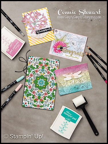 WHAT'S NEW WEDNESDAY – Sale-a-Bration Inside the Lines Designer Series Paper
