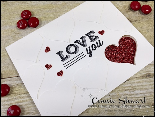 Make It in Minutes – Love You Heart Card – Video No. 14