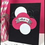 FLASH CARD by Connie Stewart - Celebrate with Polka Dots Card - check it out at www.SimplySimpleStamping.com - look for the April 5, 2017 blog post