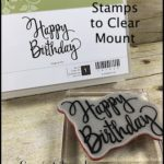 2-Minute Tuesday Tip - Convert Wood Stamps to Clear Mount - check out the video at www.SimplySimpleStamping.com and look for the March 28, 2017