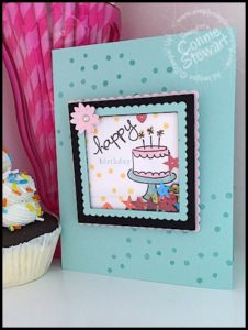 Endless Wishes Shaker Easel - Go from a card to a sweet gift! Check out the video at www.SimplySimpleStamping.com and look for the April 19th post!