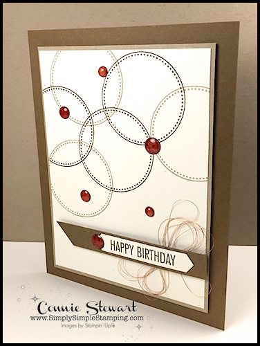 Make It Monday Quick Easy Manly Birthday Card Simply Simple