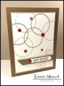 Make It Monday - QUICK & EASY MANLY BIRTHDAY CARD - download the FREE tutorial at www.SimplySimpleStamping.com - look for the April 10, 2017 blog post!