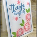 MAKE IT IN MINUTES by Connie Stewart - Swirly Thanks Card - check it out at www.SimplySimpleStamping.com - look for the April 12, 2017 blog post