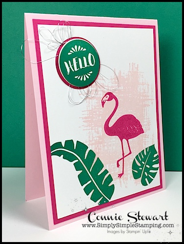 MAKE IT MONDAY –  Flamingo Hello Tutorial