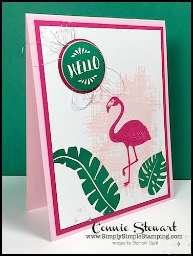 MAKE IT MONDAY –  Flamingo Hello Tutorial