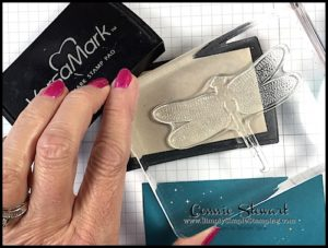 TEACH me that! Learn the Heat Embossing Technique at www.SimplySimpleStamping.com - look for the April 27, 2017 blog post