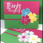 FLASH CARD 2.0 by Connie Stewart - Thanks for Everything Card - check it out at www.SimplySimpleStamping.com - look for the April 28, 2017 blog post