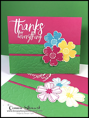 FLASH CARD 2.0 – Thanks for Everything Card – Video No. 79