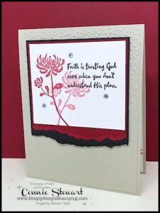 TEACH me that! Learn the Torn Edge Technique at www.SimplySimpleStamping.com - look for the April 20, 2017 blog post