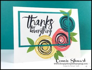 TEACH me that! Learn the Triple Stamping Technique at www.SimplySimpleStamping.com - look for the May 4, 2017 blog post