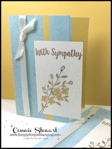 FLASH CARD MASH UP - With Sympathy Card - video tutorial available at www.SimplySimpleStamping.com - look for the May 5, 2017 blog post