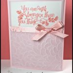 2-Minute Tuesday Tip - Vellum Tip #6 - Texture Embossing Vellum - check out the video at www.SimplySimpleStamping.com and look for the May 16, 2017
