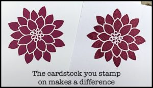 2-Minute Tuesday Tip - No More Blotchy Stamped Images - check out the video at www.SimplySimpleStamping.com and look for the May 23, 2017