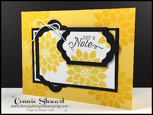 FLASH CARD – Just a Note Label Card – Video No. 95