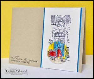 Make It Monday - THANK YOU FOR BEING MY FRIEND CARD - download the FREE tutorial at www.SimplySimpleStamping.com - look for the May 29, 2017 blog post!